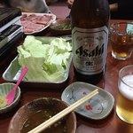 万ちゃん - 瓶ビール大 ¥600