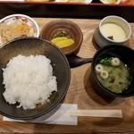 77058220 - 銀ダラ味噌定食
