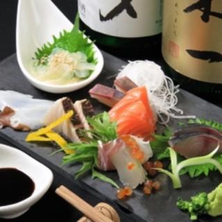旬の魚を使ったお料理をお楽しみください♪