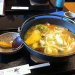 日本料理 華や - きのこほうとう
