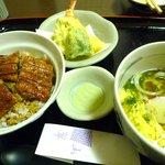 山翠 - 料理写真:うな丼セット 1500円
