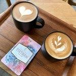 ネイバーフッドアンドコーヒー - カプチーノ&カフェラテ