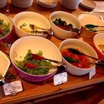 カフェ・スコーラ - 食べ放題の淡路野菜