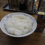 うえむらや - ライス(150円)