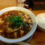 中華そば de 小松 - 麻婆麺