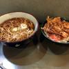 文殊 - 料理写真:そば定食520円