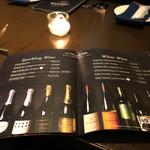 BLUE POINT - ワイン・リスト