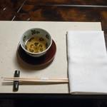 比良山荘 - 2017.11 テーブルセット(どくだみ茶)