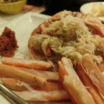 うまい鮨勘 - 蟹実のアップ