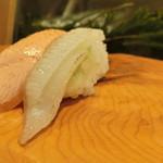 うまい鮨勘 - 『炙りえんがわ』170円