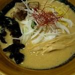 札幌 炎神 - 海老みそ味噌ラーメン800円