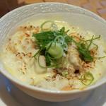 自家製麺 のぼる - チーズチャーシュー丼