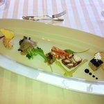 7707395 - フォアグラから、サーモンのリエットまで。タコが美味しかった。