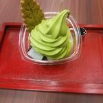 春芳茶園 - 濃厚抹茶あんみつパフェ