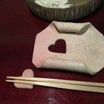 龍のひげ - 箸置きとお手拭き台