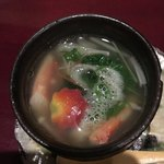 龍のひげ - 蟹の小鍋