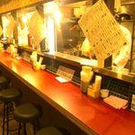 東京ミート酒場 - 店内(1Fカウンター席)