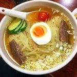 のみやす焼肉 - 冷麺  甘こくスープとモッチモチの麺