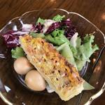 東京料理 ゑの木 - ランチセットのサラダ