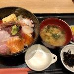 77079046 - どうらく海鮮丼