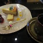 かん桜 - 料理写真:ケーキセット