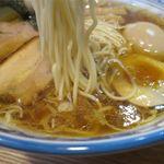 らーめん心繋 - らーめんの麺