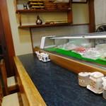 寿司懐石 かご家 - カウンター