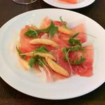Trattoria&Pizzeria LOGIC - 16ヶ月熟成生ハム