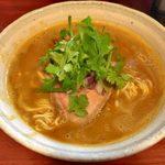 らーめんHAGGY - 「ゆずカレー麺」900円
