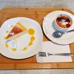 ゆいーと - チーズケーキ、豆乳カタラーナ