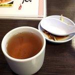 77083542 - お茶と薄い時に入れる薬味
