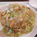 リンガーハット - 長崎皿うどん 麺2倍