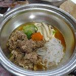 すき焼 小川亭 - 小鍋付き