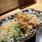 土鍋炊ごはん なかよし - 豚バラ肉の生姜焼き定食980円