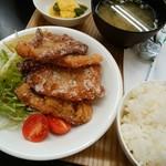 カフェガーデンさら - 豚ロースの竜田揚げ定食