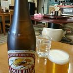 楽園 - ドリンク写真:瓶ビール(中)(o^-')b !