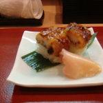 割烹 ゆう介 - 鱧押寿司