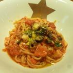 金星パスタ 南船場本店 - 海の幸とお野菜たっぷりナポリ風完熟トマトソース