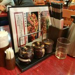 純中国伝統料理四川料理 芊品香 - 卓上