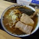 自家製麺 佐藤 - 「太麺中華」醤油700円