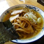 自家製麺 佐藤 - 限定・東京ラーメンショー提供「比内地鶏極太中華蕎麦」780円