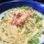 福天 - 福天オリジナル汁なしタンタン麺 1,080円。 スープ・チャーハン・デザートorドリンク付きです。