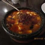 77104755 - 「麻婆豆腐(旨味と甘辛味、痺味!マーボトーフ)1,080円(税別)」