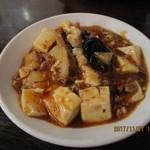 77104756 - 「麻婆豆腐(旨味と甘辛味、痺味!マーボトーフ)1,080円(税別)」