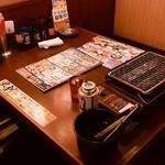 目利きの銀次 - このテーブル席を利用しました
