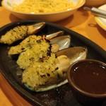 サイゼリヤ - ムール貝ガーリック焼き