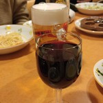 サイゼリヤ - グラスワイン赤が100円♪