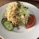 ヌワラエリヤ - セットのサラダ