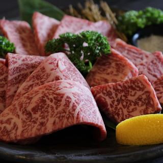 厳選して仕入れる肉のみを使用