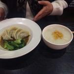 ムーラン - 四川水餃子です。美味しかった。(^^)